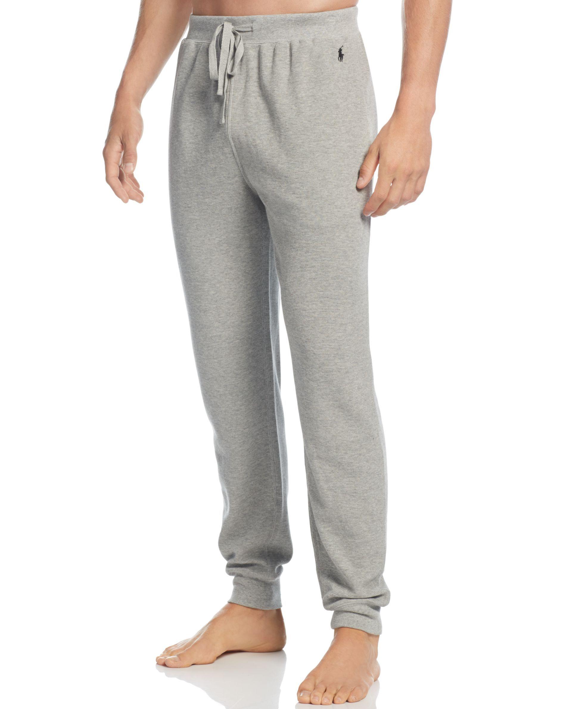 Polo Ralph Lauren Mens Loungewear Thermal Jogger Pants