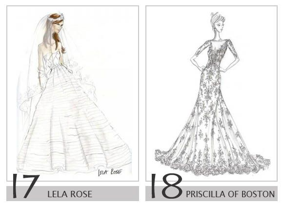 09 royalty wedding dress design sketch ideas for - Dress Design Ideas
