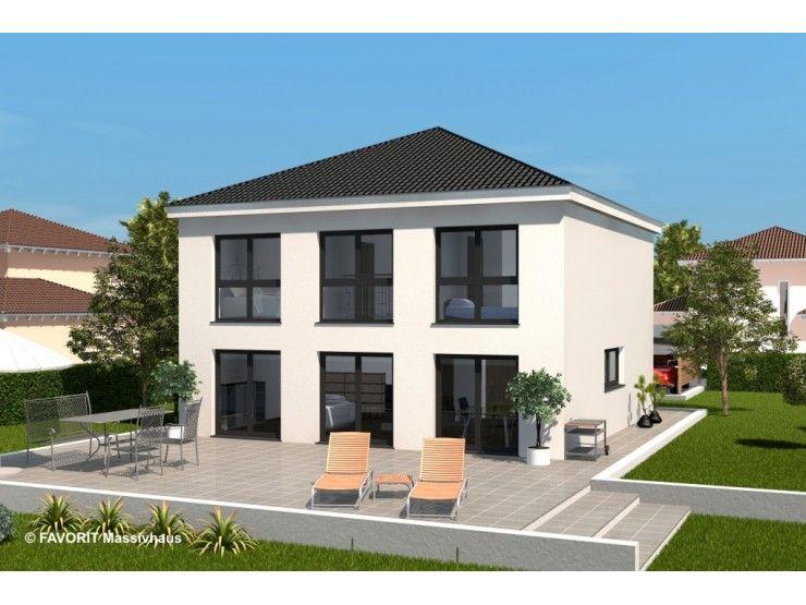 Citylife 148 einfamilienhaus von bau braune inh sven for Massivhaus modern