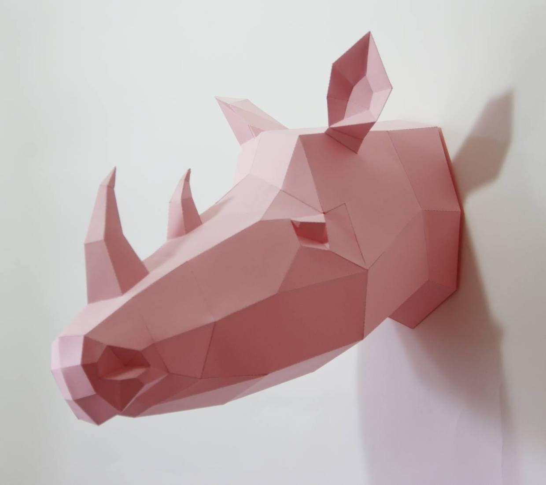 Geometric Paper Animal Sculptures By Wolfram Kampffmeyer Paper Animals Animal Sculptures Origami Artist