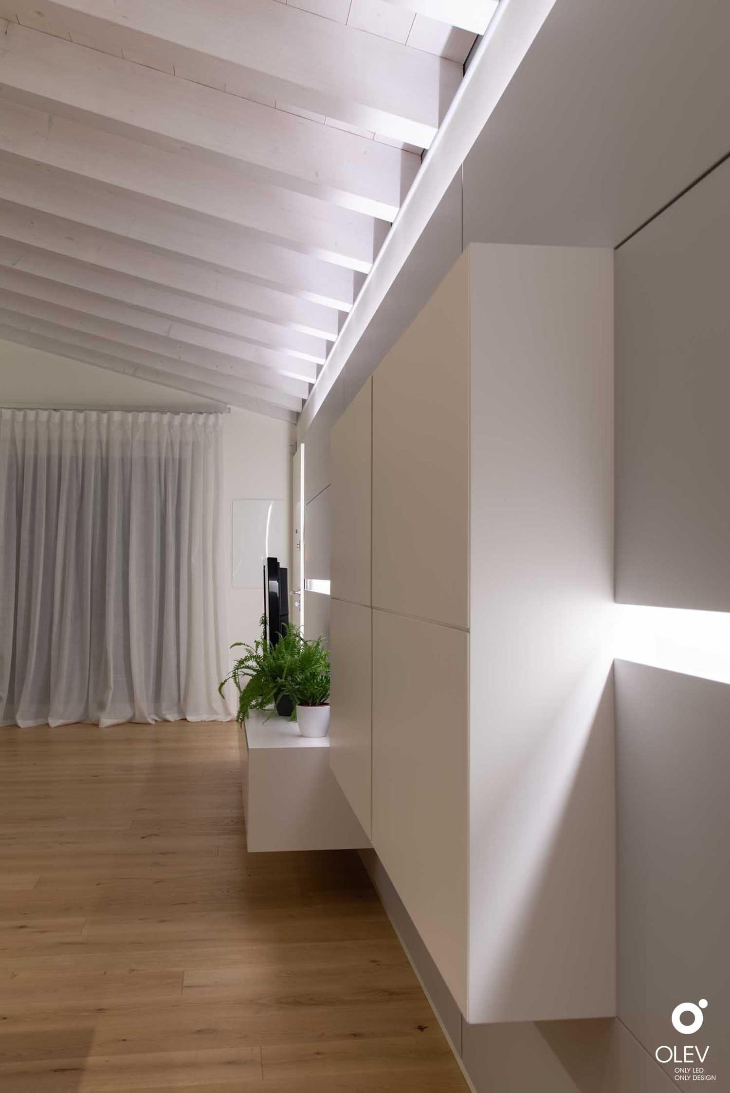 Travi A Vista Illuminazione la casa sartoriale (vi nel 2020 (con immagini