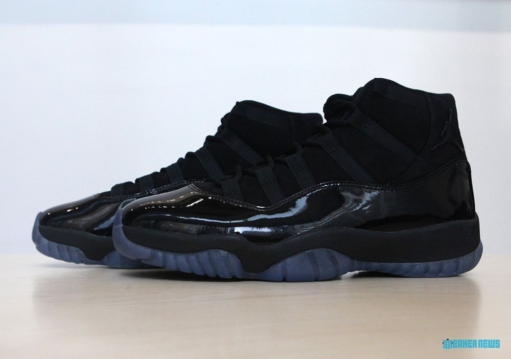 7de1ba997fd3 AIR JORDAN 11 XI RETRO BLACK CAP AND GOWN PROM NIGHT SIZE 7-13  fashion   clothing  shoes  accessories  mensshoes  athleticshoes (ebay link)