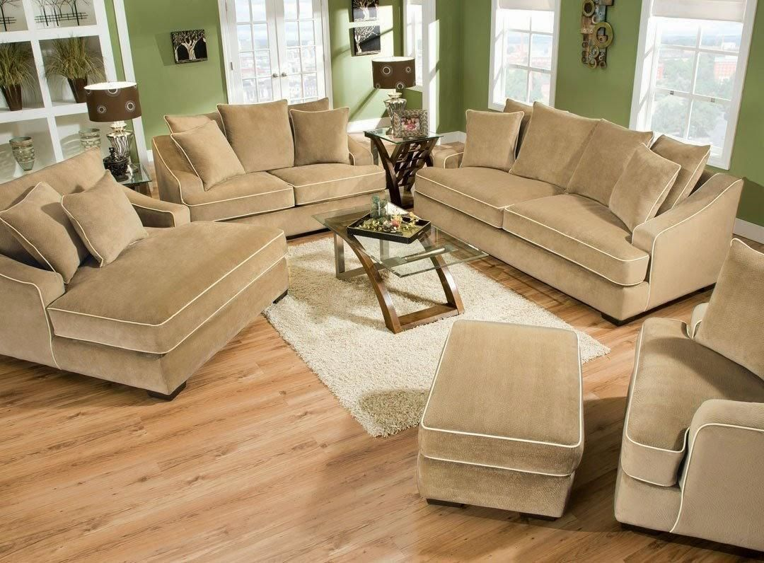 Furniture Oversized Deep Couches Brown Color Concepts Furniture
