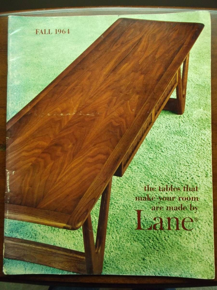 Vintage Lane Furniture Table Portfolio Catalog Fall 1964 ...