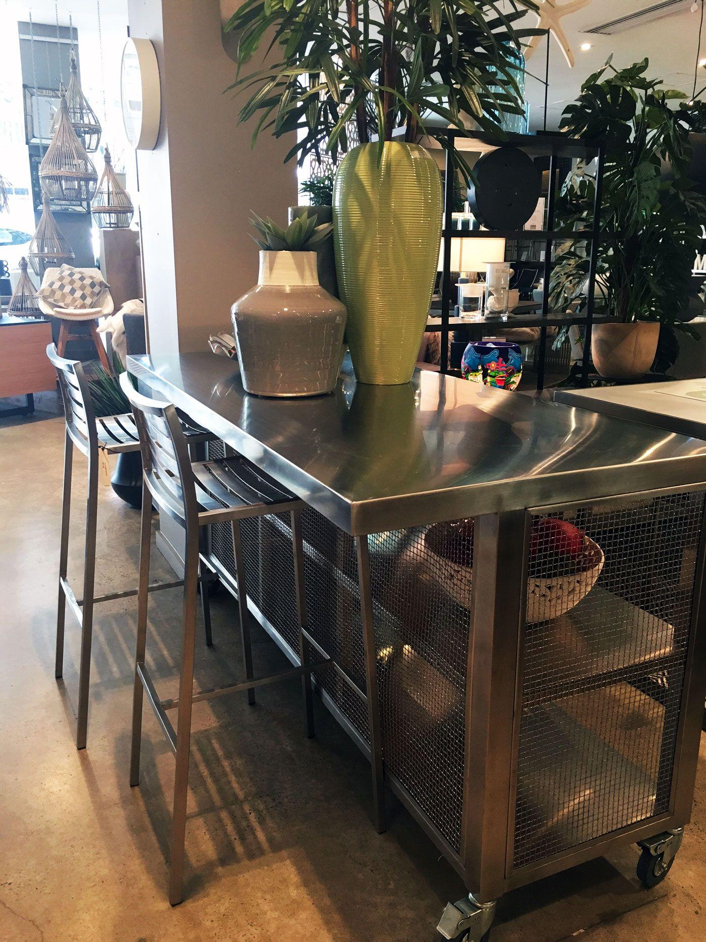 Tech Mobile Kitchen Island | Moss Furniture - Showroom Styles ...