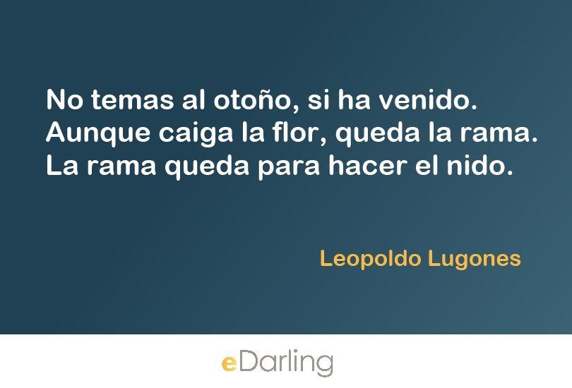 Cita de Leopoldo Lugones Sonreir enamora Pinterest