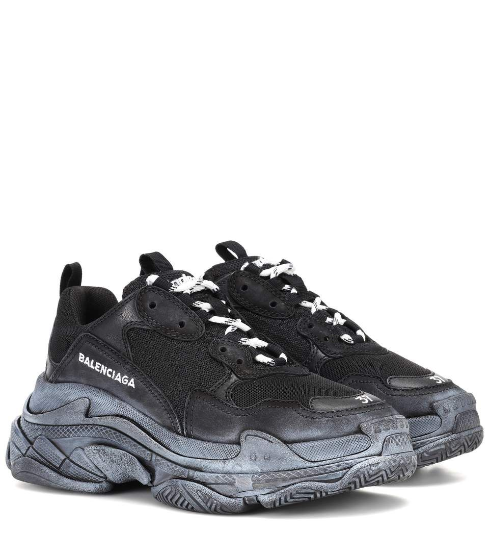 BALENCIAGA | Triple S sneakers #Shoes #Sneakers #Low-tops #BALENCIAGA