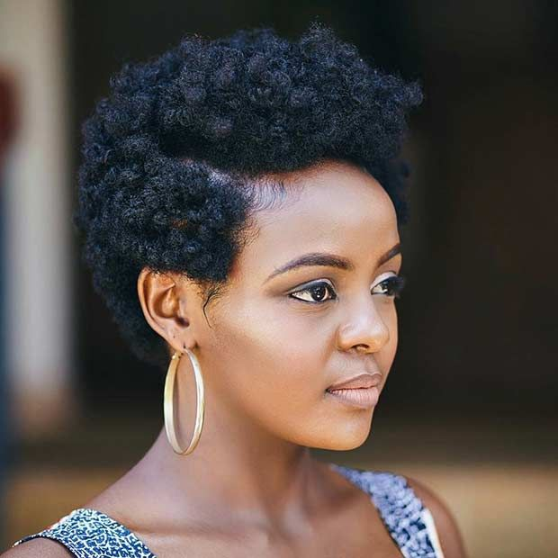Natural Hairstyles For Black Women 31 Best Short Natural Hairstyles For Black Women  Short Natural
