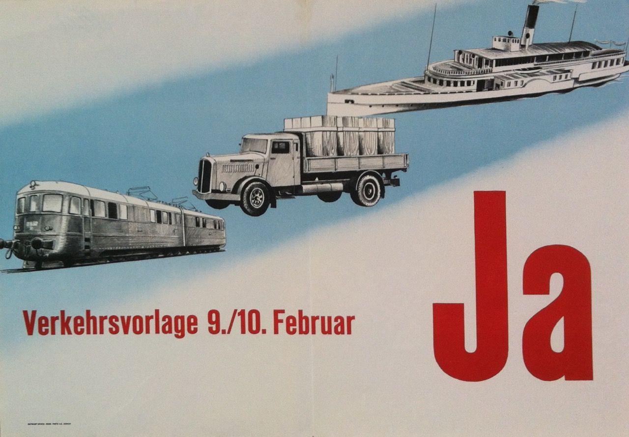 Verkehrsvorlage Ja – 1946