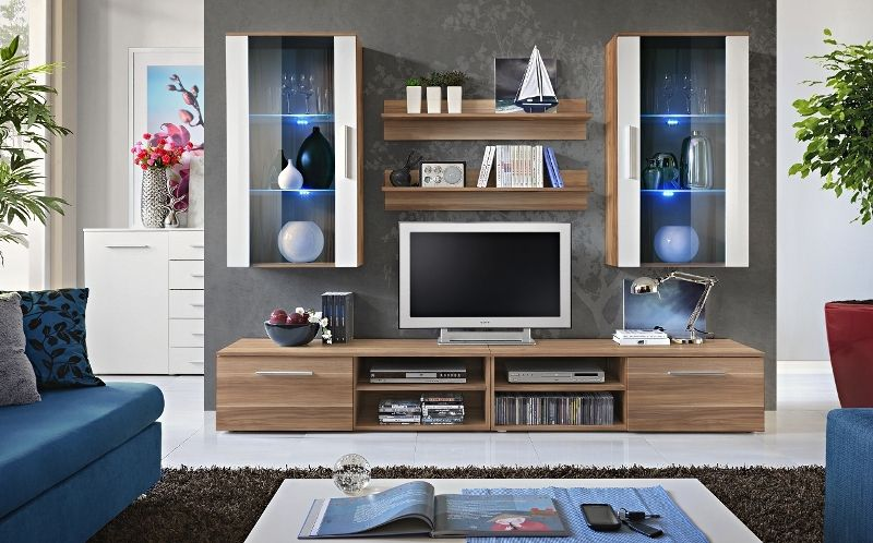 living rooms wall units