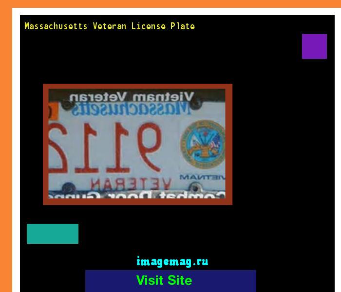massachusetts veteran license plate 140626 - the best image search