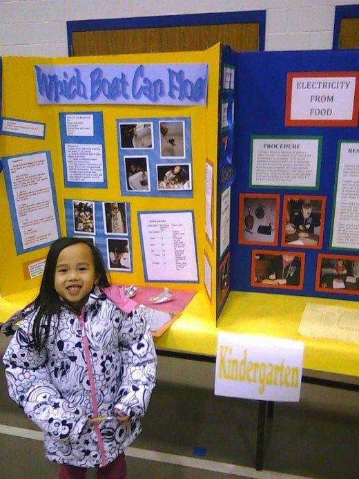 Easy Kindergarten Science Fair Project kindergarten
