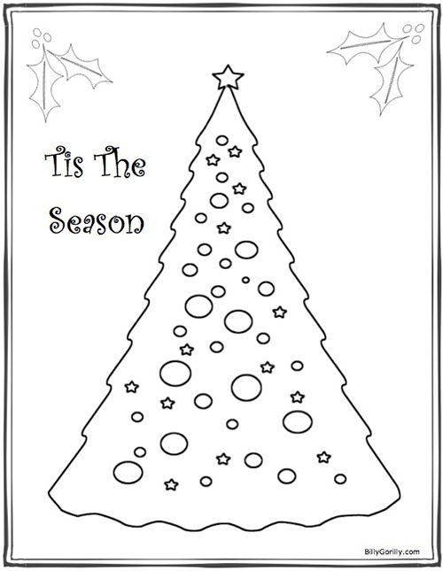 10 Winter Holiday Coloring Pages for Kids  Coloring pages winter