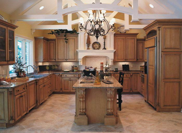 maple kitchen cabinets |  maple glaze kitchen cabinet (em-m34