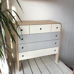 Lozi - Bespoke Plywood Furniture - Chest of Drawers#bespoke #chest #drawers #furniture #lozi #plywood