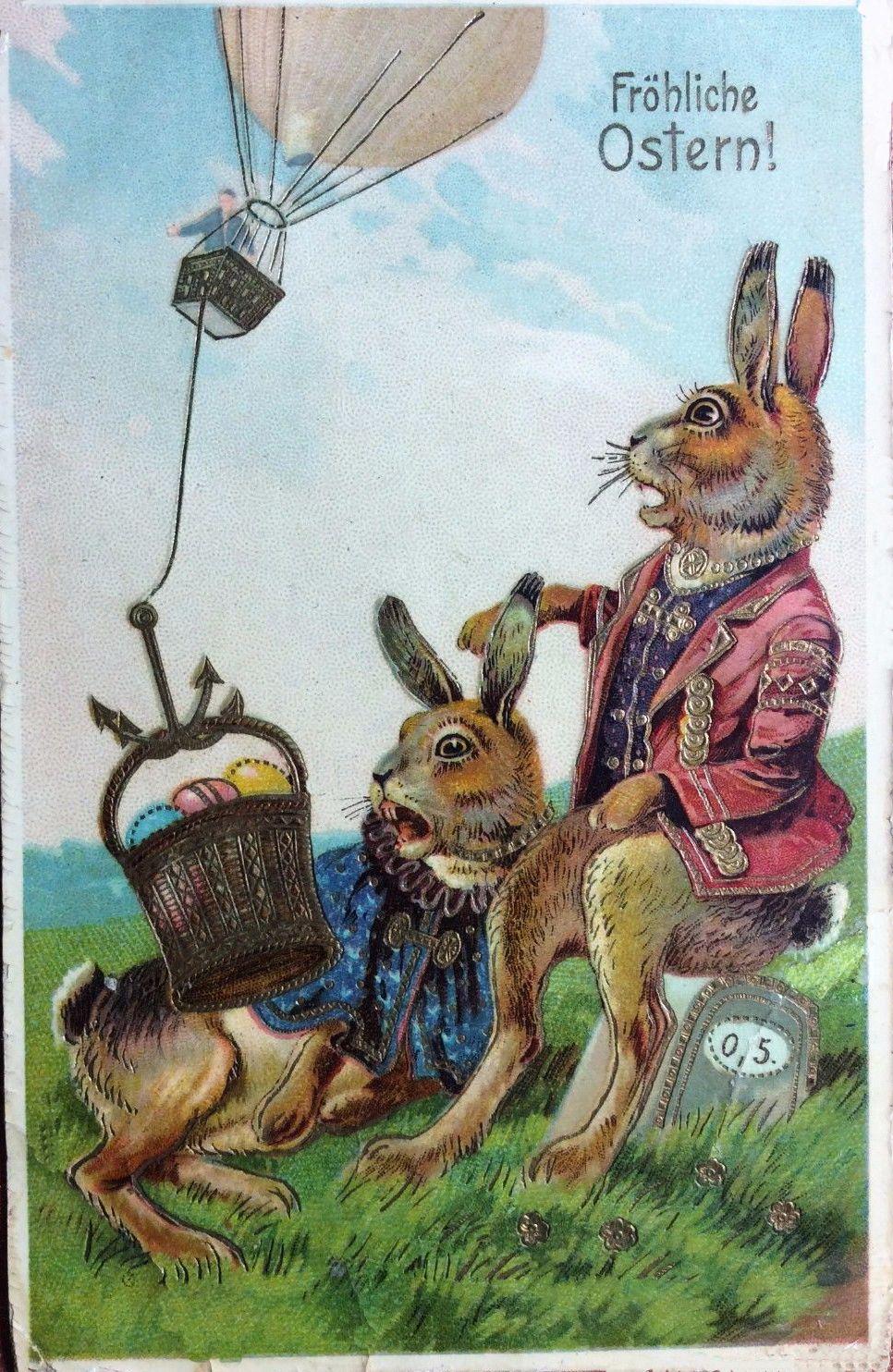 Cute vintage Easter postcard