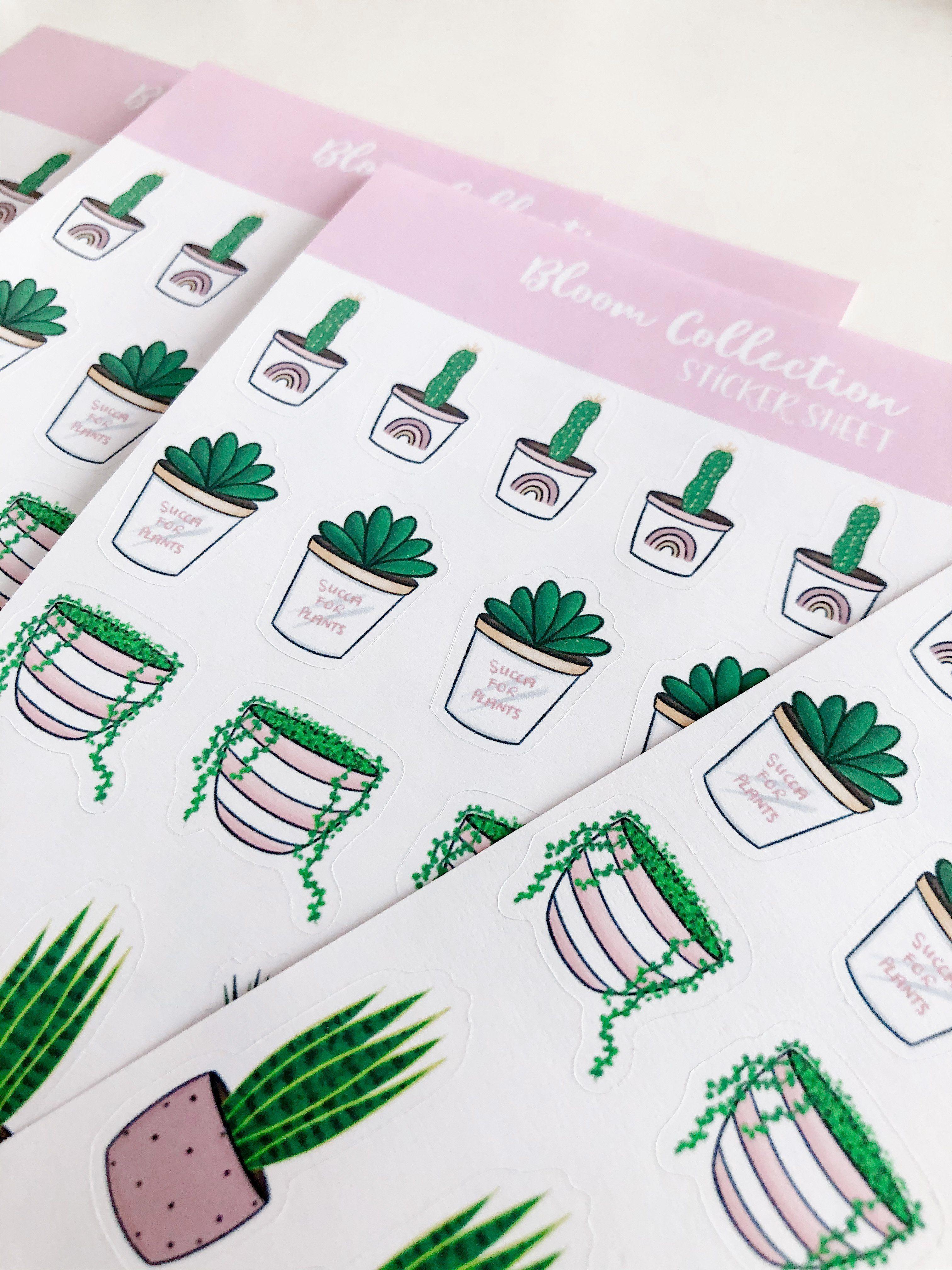 Bloom Collection Sticker Sheet