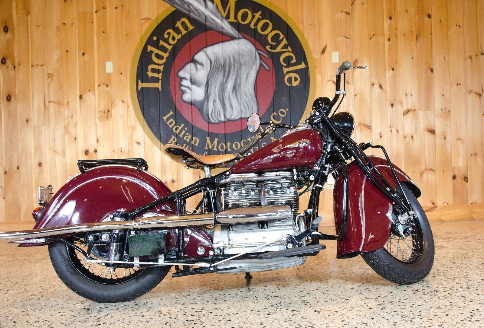1940 Indian Four Motocycle Indian Motorcycle Indian Motors Indian Motorbike