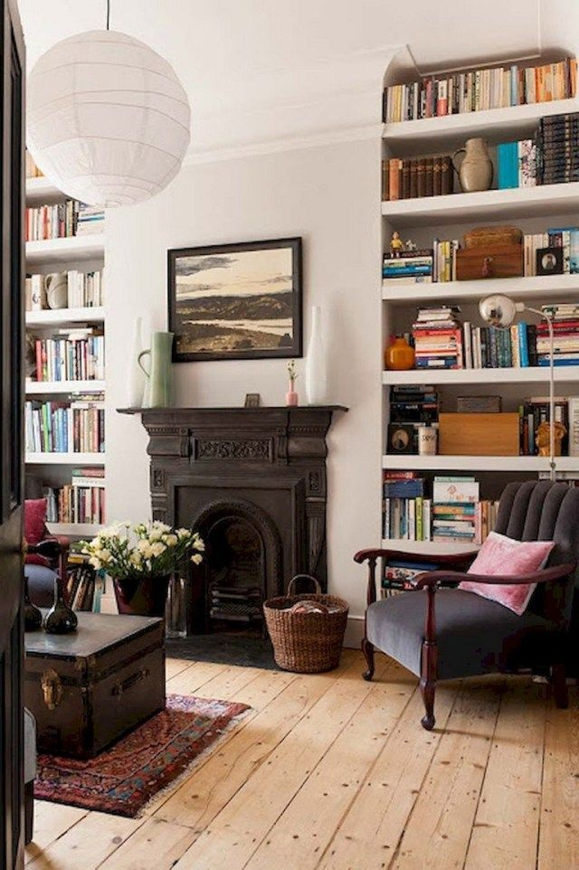 58 Stunning Library Room Design Ideas With Eclectic Decor  Page 27 of 58  58 Stunning Library Room Design Ideas With Eclectic Decor  Page 27 of 60