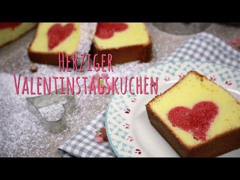 Video: Ein Kuchen mit Herz #valentine #heart #easy #stepbystep #video #red #sweet #yummy #dessert #love