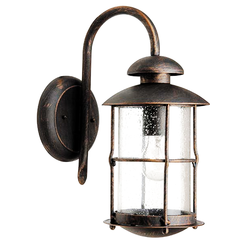 Lampara aplique farol oxido iluminacion decoracion - Iluminacion exterior ...
