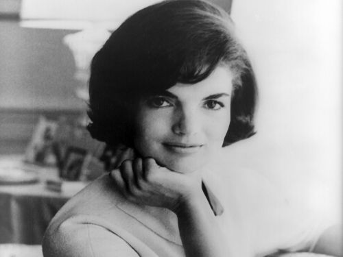 The official White House photograph of first lady Jacqueline Kennedy from 1961. The most iconic First Lady of the 20th Century.