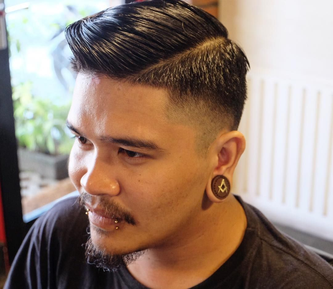 Awesome excellent ideas for pompadour fade in mood for the