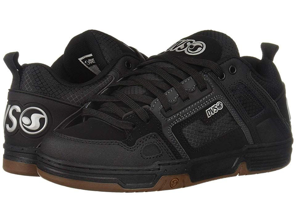 75221cf1aa0948 DVS Shoe Company Comanche (Black White 1) Men s Skate Shoes. Nothing ...