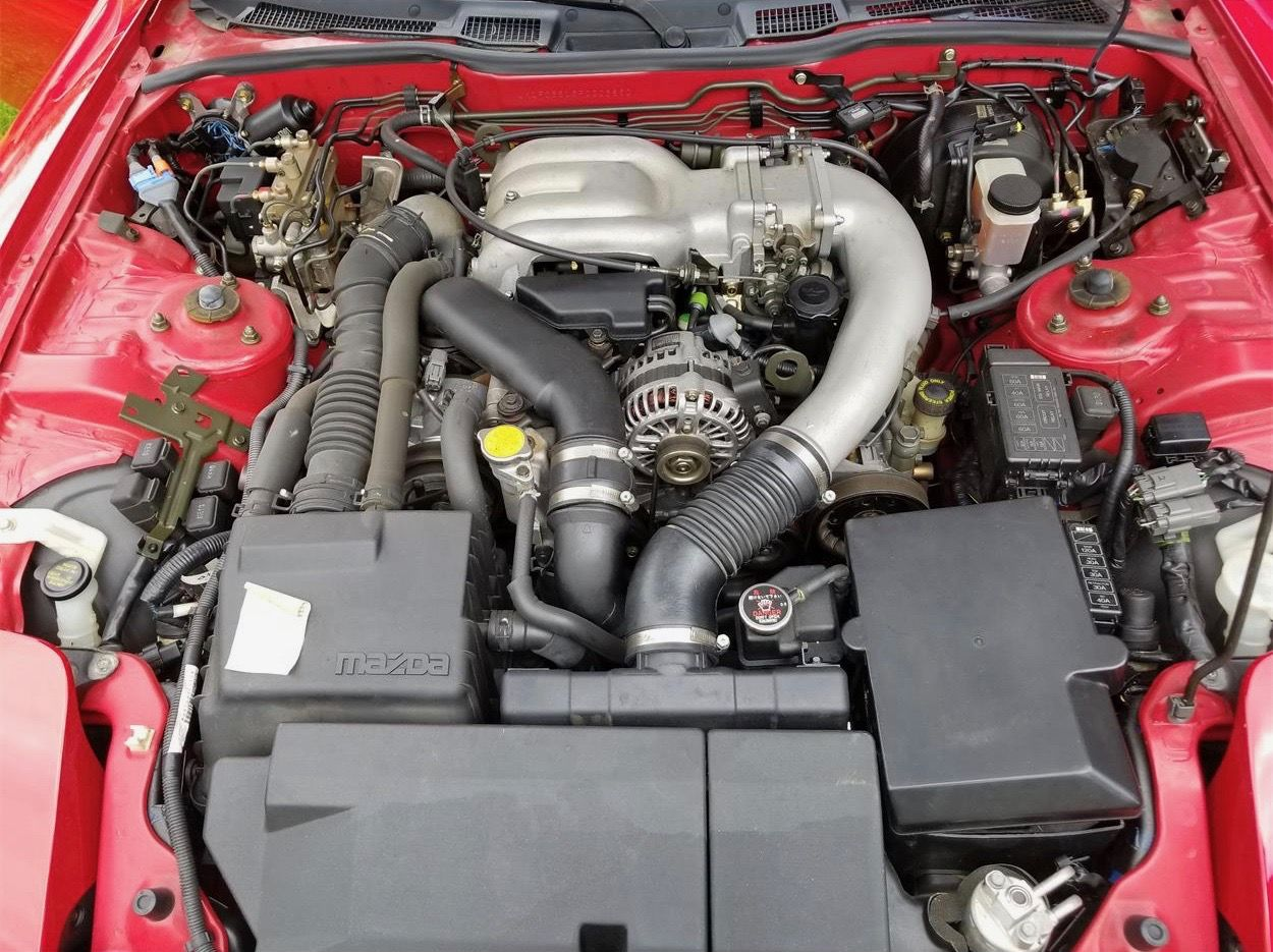 One Owner One Driver 93 Mazda Rx 7 Is Pick Of The Day Mazda Rx7 Mazda Jdm Engines