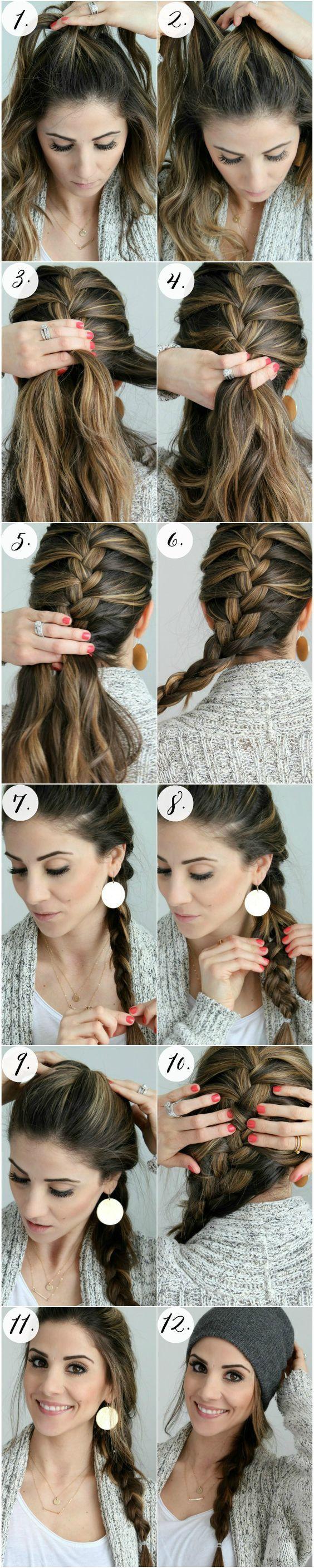 Simple french braid tutorial braid tutorials french plait and