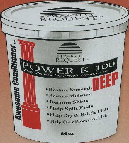 Straight Request Power K 100 Deep Conditioner 64 Oz Deep