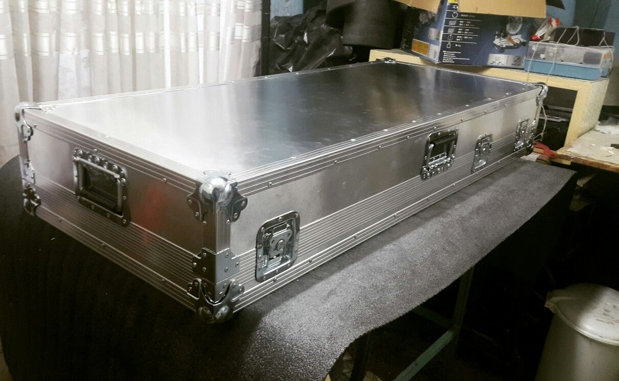 My works, custom pedalboard hardcase