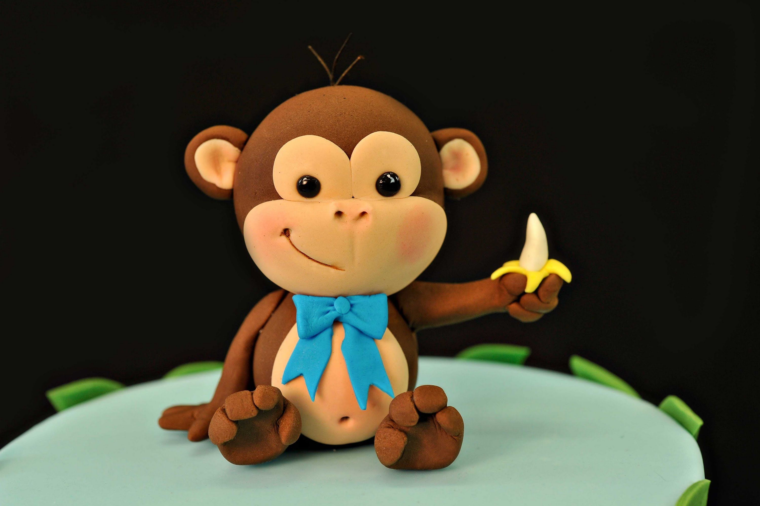 How to make a Cheeky Monkey cake topper Cake Inspiration