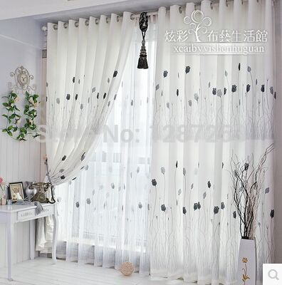 images pour fenetre salon rideaux et