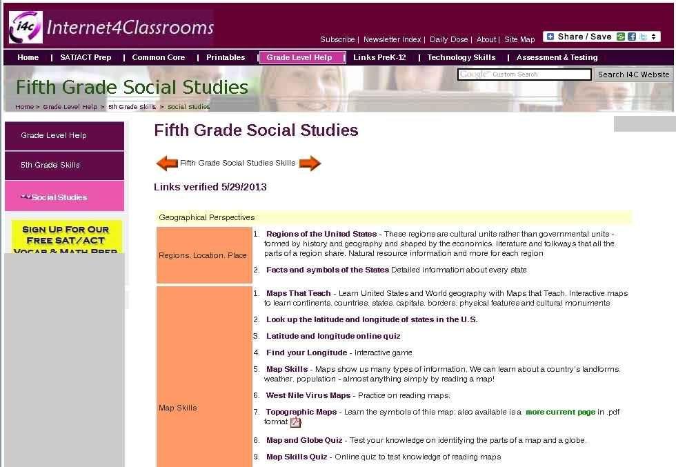 5th grade social studies tcap skills social studies 5th