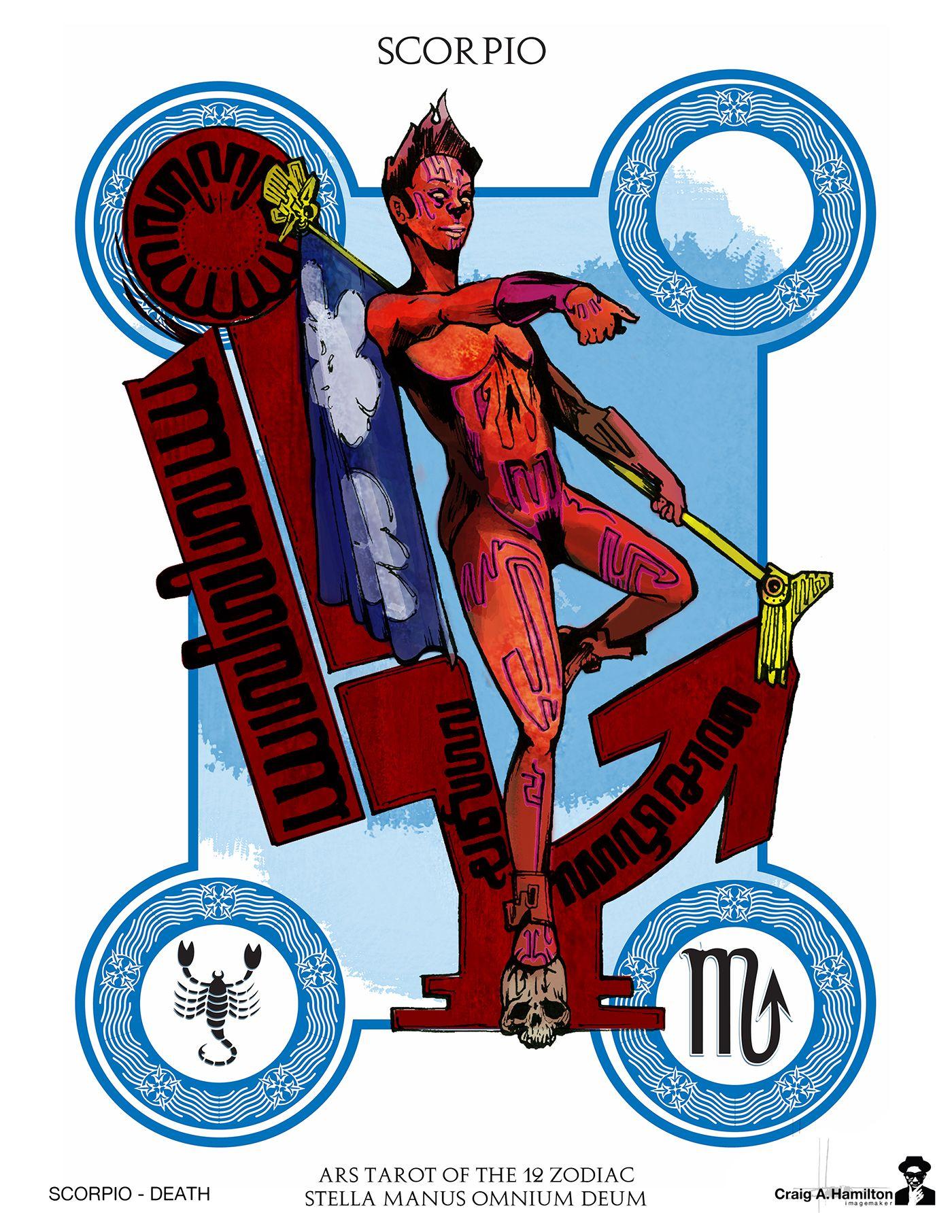 Ars zorot tarot of the 12 zodiac on behance zodiac 12