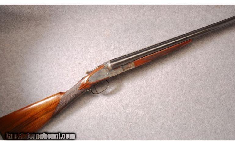 lc smith double barrel shotgun | LC Smith Trap Grade 16 ...