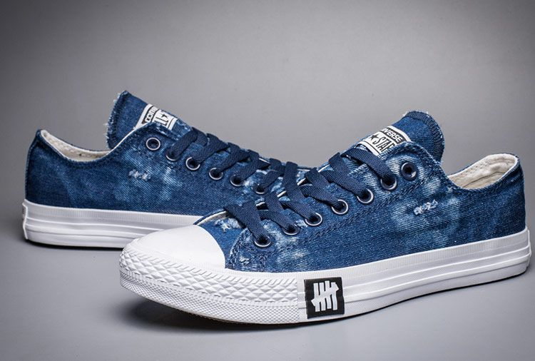855b1c40d26d Converse Blue Washed Rag Jean Clear Sole Chuck Taylor All Star Shoes   converse  shoes