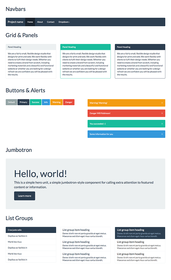 Baking Bootstrap Snippets with Jade - Tuts+ Web Design Tutorial ...