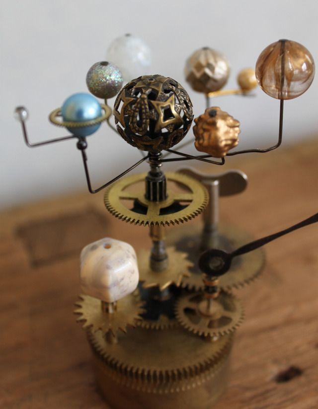 時計仕掛けの惑星儀 | Clocks, Steam punk and Solar system