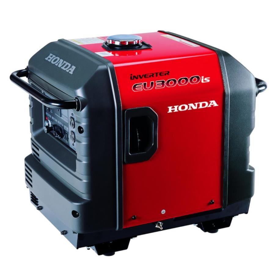 Inverter Generators Honda Eu 3000 Watt Inverter Gasoline Portable Generator In 2021 Honda Generator Portable Inverter Generator Gas Powered Generator