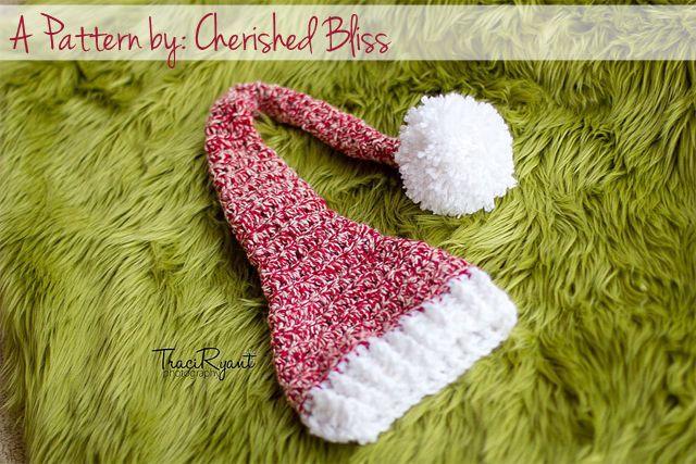 Stocking Hat Crochet Pattern {free   Hat crochet, Stockings and Crochet