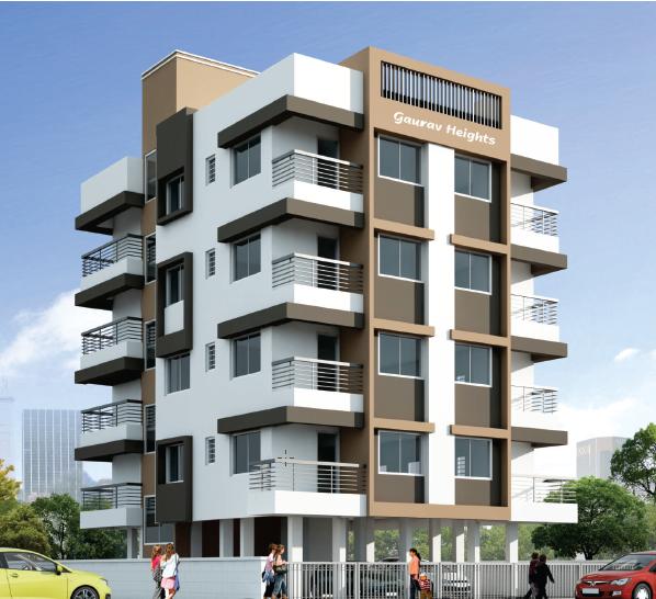 Modern Residential Exterior By Ar Sagar Morkhade: Building Design, Building Elevation