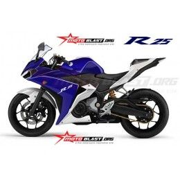 Exclusive Yamaha R25 Production Model To Resemble Yzf R1 Dengan