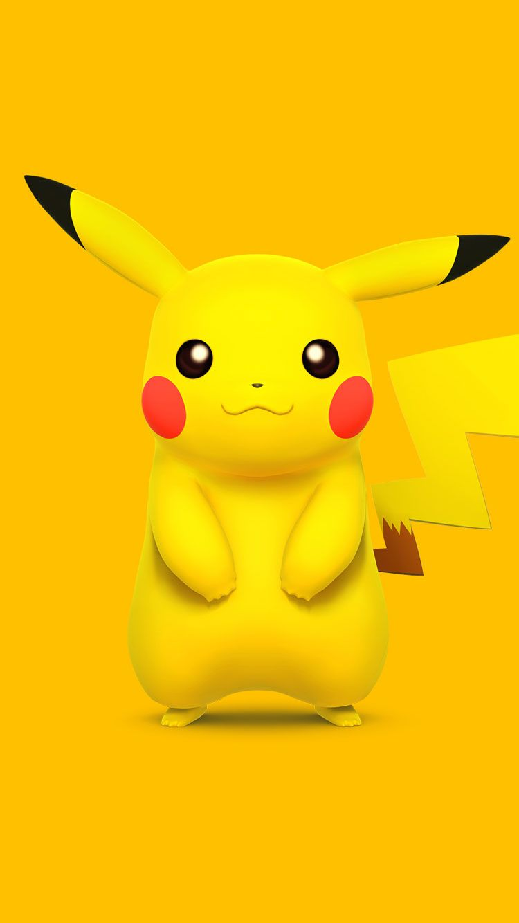 PokemonPikachuiPhone6Wallpaper ปิก๊าจู Pinterest
