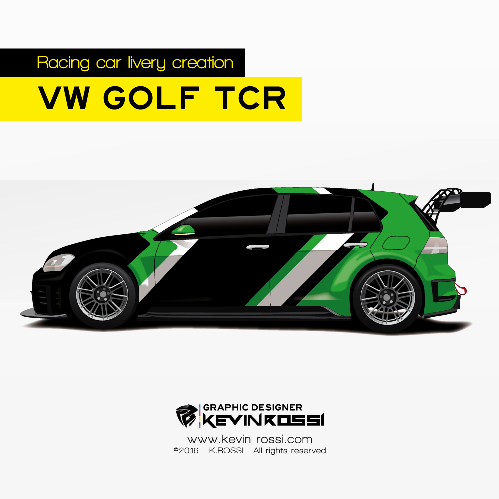 Livery Creation On Volkswagen Golf Tcr Available Car