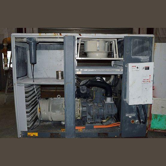 620 Cfm Model Ga90vsd 125 Hp 480v 3600 Rpm Intercooled With Fan 7 5 Hp Motor 480v 200a Disconnect N Air Compressor Locker Storage Compressor