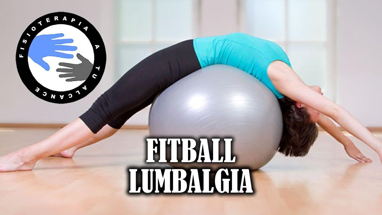 Ejercicios con fitball o pelota de pilates para aliviar la lumbalgia o l. 6dc6e3e99508