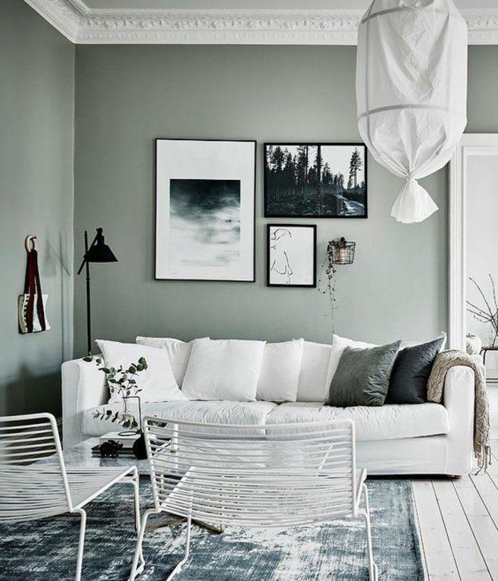 Graue Wände Wohnzimmer: 1001 + Ideen In Der Farbe Perlgrau Zum Inspirieren