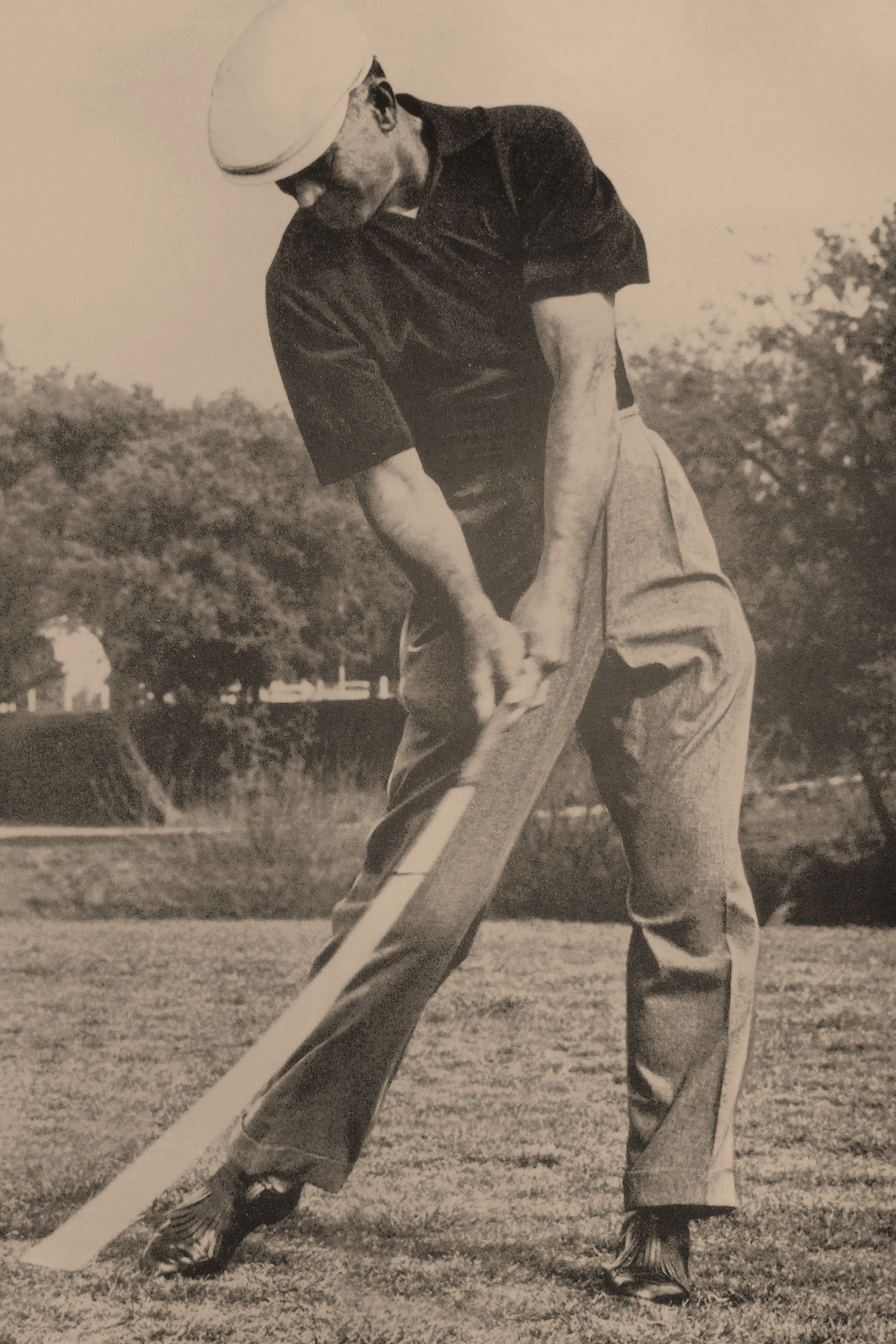 Now That is a Forward Leaning Shaft Ben Hogan
